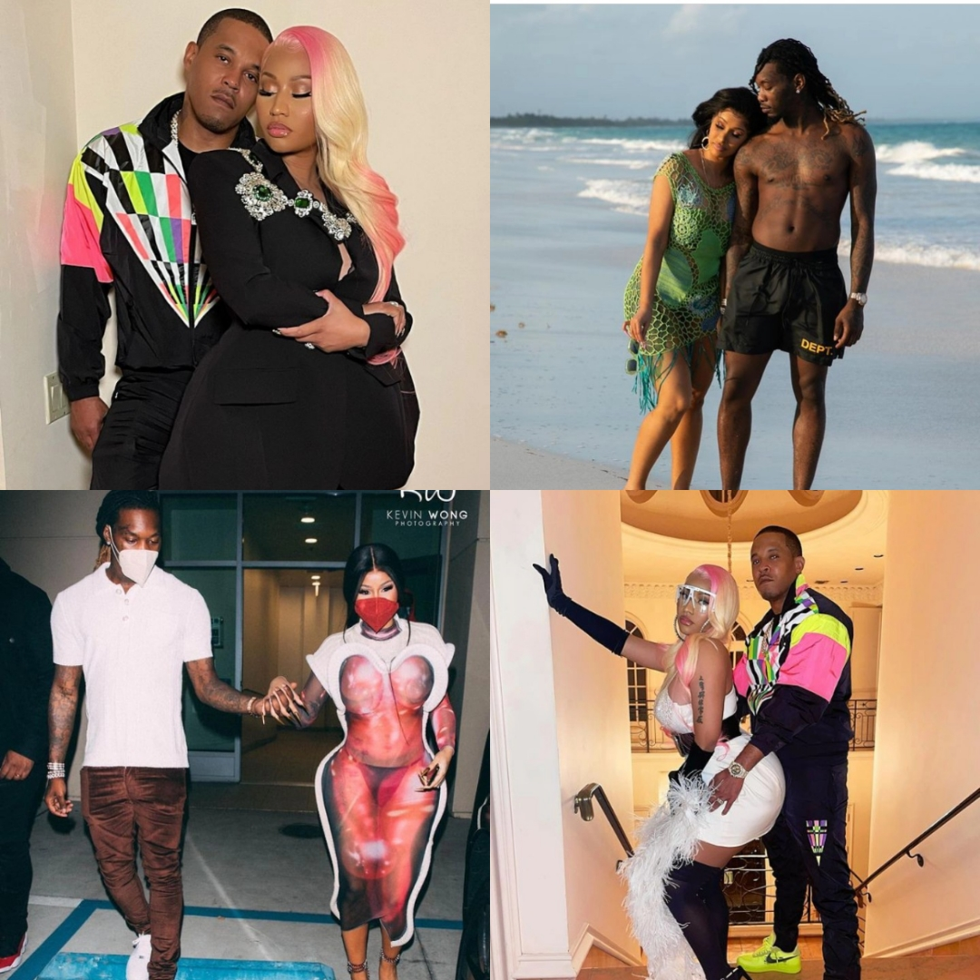 The Difference & similarities between Kenneth Petty & Offset; Nicki Minaj & Cardi B's husband…They are both…