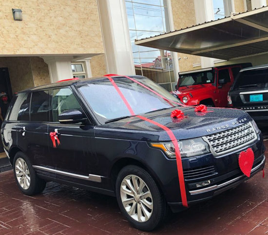 ANOTHER SUV FOR CHIOMA 'DAVIDO'S GIRLFRIEND'?