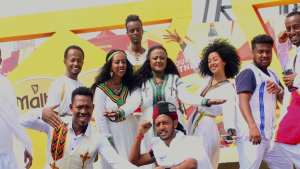 """ETHIOPIANS DEFEAT NIGERIANS IN NIGERIA IN THE FIRST EDITION OF  #MALTAGUINNESS """"THE MALTAVATOR CHALLENGE TV GAME SHOW"""""""