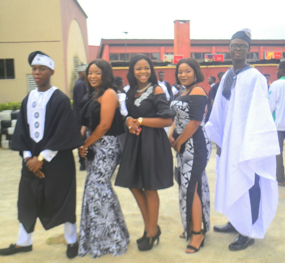 OUTGOING STUDENTS OF ISL, UNILAG, DAZZLE AT THE SCHOOL'S VALEDICTORY SERVICE!