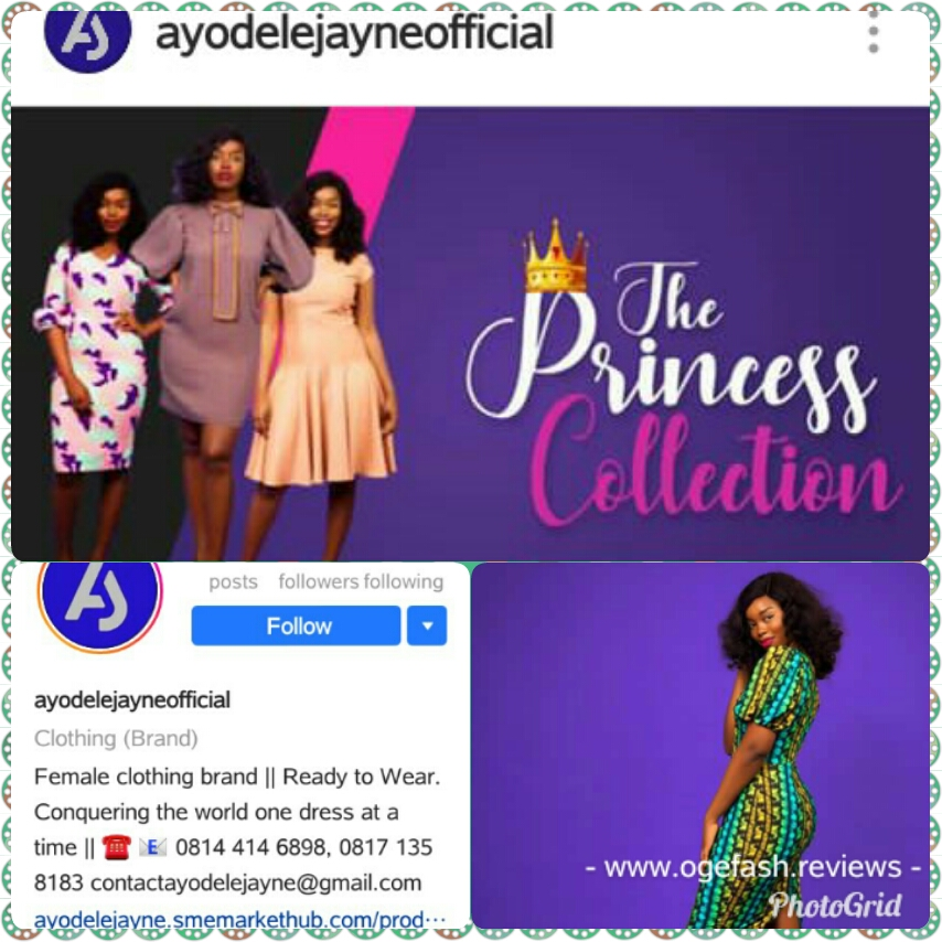 NEW COLLECTION FROM AYODELEJAYNEOFFICIAL