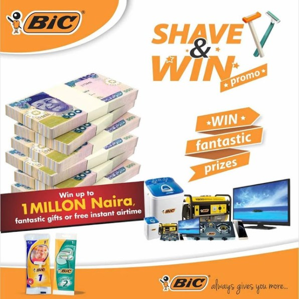 Bic Shavers Promo - Promos in Nigeria