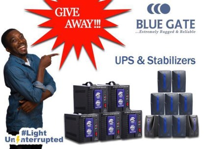 Bluegate UPS Promo
