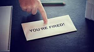 ORGANISATIONS THAT ARE FOND OF SACKING EMPLOYERS ALWAYS CRUMBLE