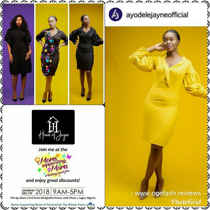 WHEN SHE STANDS OUT; TRUST ME, SHE HAS BEEN STYLED BY HOUSE OF JAYNE
