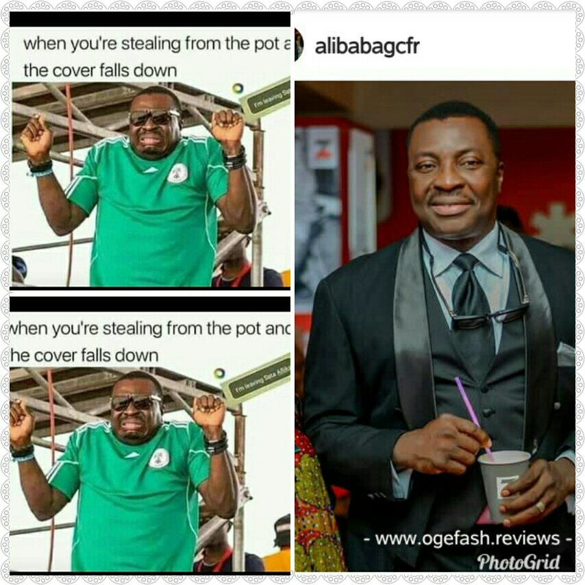 NIGERIAN COMEDIAN~ ALIBABA GIVES CHILDREN TIPS ON HOW TO STEAL…