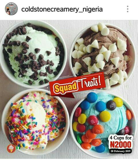 YUMMY! DONT MISS THIS #COLDSTONE SQUAD TREATS