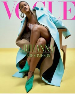 RIHANNA'S VOGUE COVER!