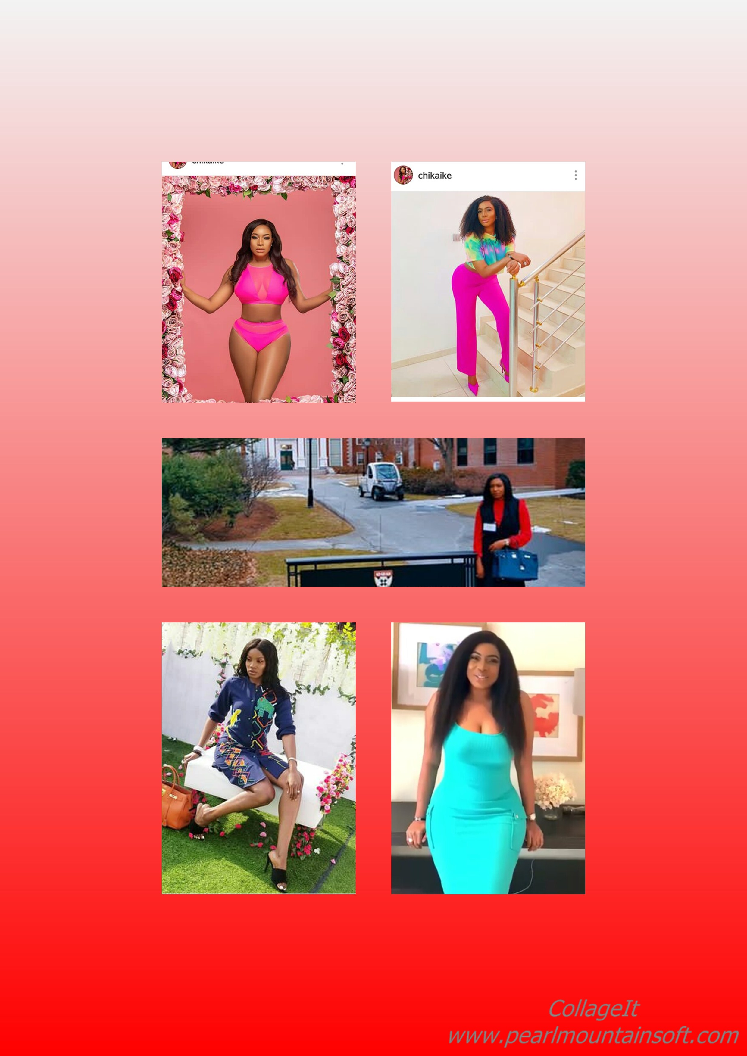 CHIKA IKE'S PICTURE CRAZE FOR THE WEEK: Blazing, Sexy, Weird, Modest or Something else?