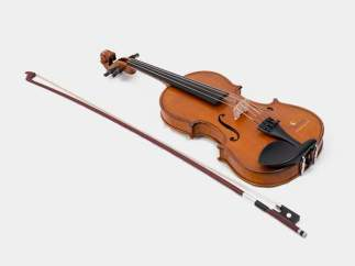 instrument-violin-grey