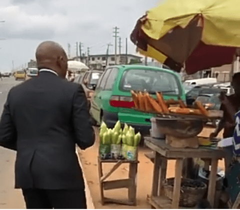 SEE WHAT HAPPENED AFTER BILLIONAIRE~ TONY ELUMELU BOUGHT ROASTED CORN FROM THIS WOMAN!