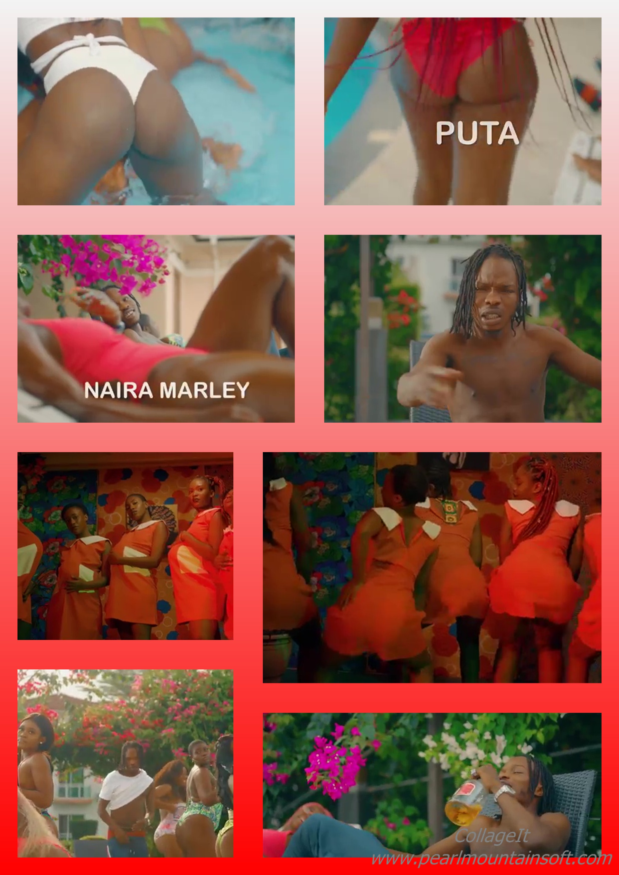 "(+LYRICS+TRANSLATION+MEANING) MUSIC REVIEW: PUTA BY NAIRA MARLEY ""THIS PUTA SONG MEANS GIRLS ARE PROSTITUTES"" +THIS IS AN ""IDI"" AS IN ""ASS"" DISPLAY VIDEO"