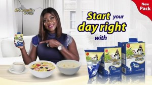 """ADVERT REVIEW: HOLLANDIA EVAP MILK WITH MERCY JOHNSON """"I HAVE NOT SEEN ANY NIGERIAN MOTHER WHO WAKES UP BY 6:00AM…"""""""