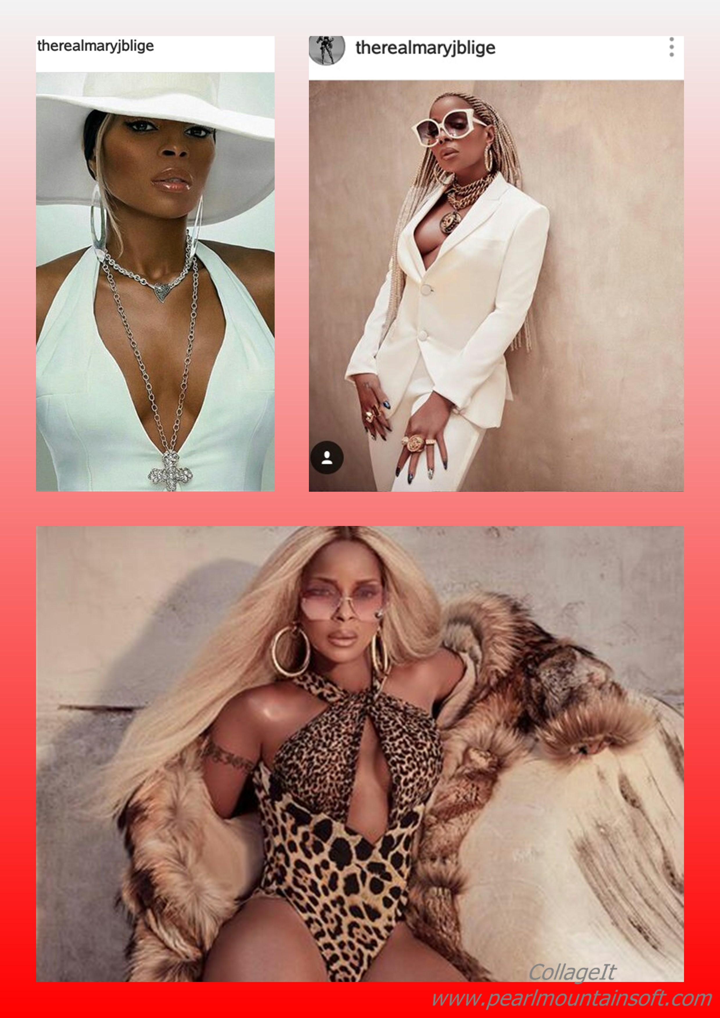 MARY J BLIGE'S PICTURE CRAZE FOR THE WEEK; Blazing, Sexy, Weird, Modest or Something else?