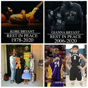 SOMEBODY PLEASE WAKE ME UP! NO, THIS KOBE BRYANT AND GIANNA BRYANT'S DEATH HAS GOT TO BE A DREAM!