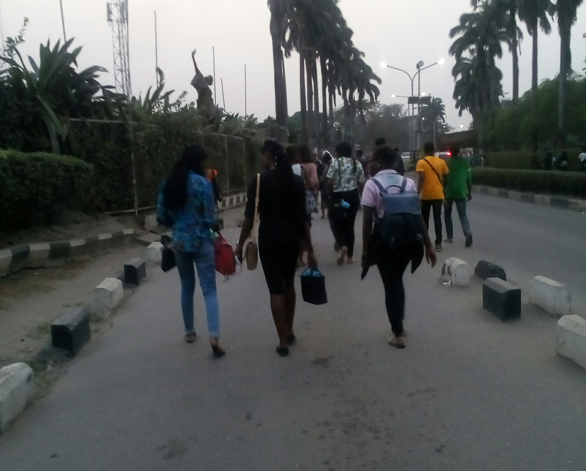 THE WHOLE OF LAGOS, UNILAG TREKKED; EVEN ME, I…