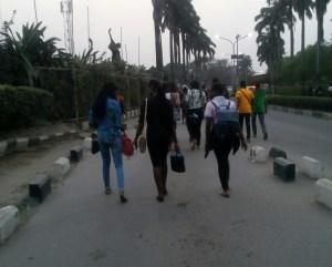 THE WHOLE OF LAGOS, UNILAG TREKKED; EVEN ME, I…