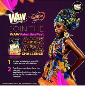 THE WAW VALENTINE ANKARA CHALLENGE!