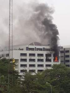 "THE FIRE INCIDENT AT THE TREASURY HOUSE, THE OFFICE OF THE  ACCOUNTANT GENERAL OF THE FEDERATION ""WHAT TRIGGERED THE FIRE?"""
