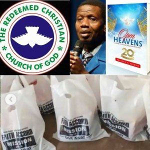 THE REDEEM CHRISTIAN CHURCH OF GOD (RCCG) HAS BEEN THE MOST SUPPORTIVE; THEY HAVE BEEN OPENING HEAVEN ON EARTH FOR PEOPLE THROUGH FOOD AND CASH DONATIONS SINCE THE OUTBREAK OF CORONAVIRUS