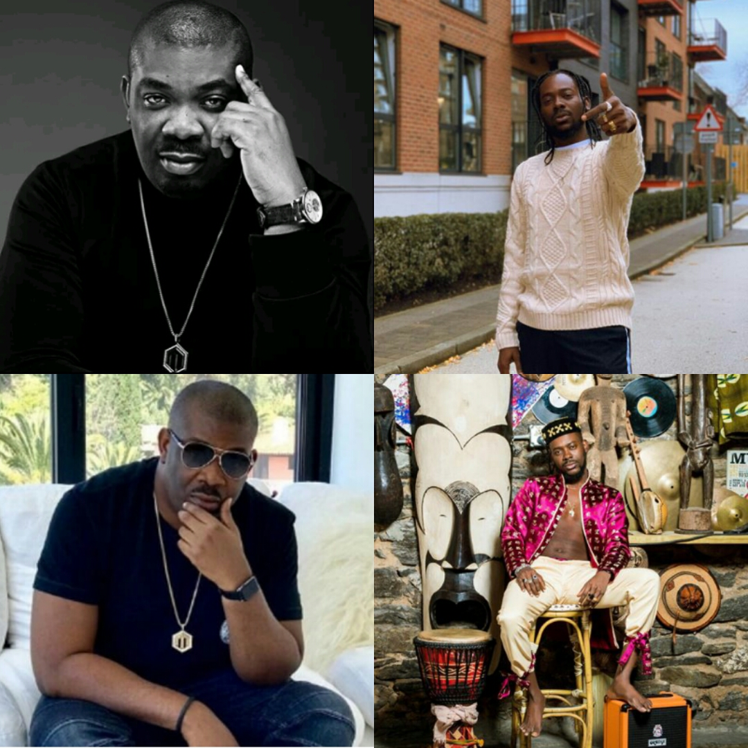 """""""NA YOU BE THE DADDY!"""" DON JAZZY REPLIES ADEKUNLE GOLD FOR CALLING A YOUNG UNMATCHED GUY LIKE HIM DADDY!"""