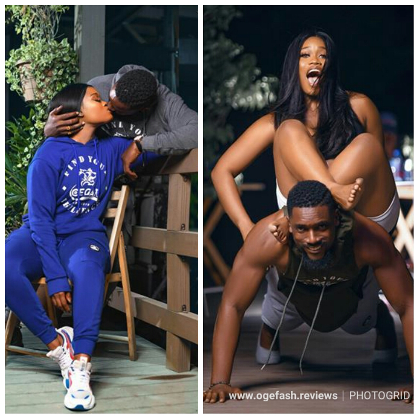 CYNTHIA NWADIORA (CEEC) FINALLY SPEAKS ON HER RELATIONSHIP WITH HANDSOME AND HOT PIECE OF CHOCOLATE ACTOR~ MAWULI GAVOR!