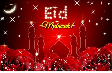 FROM ALL OF US @OGEFASH BLOG; EID MUBARAK TO ALL MUSLIMS!