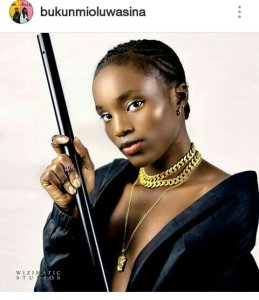 NOLLYWOOD ACTRESS~ BUKUNMI OLUWASINA LOOKING HAWT IN NEW PICTURES!