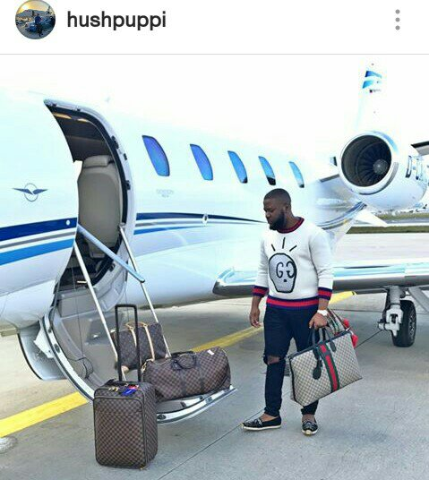 Read more about the article TEN (10) FLAMBOYANT PICTURES OF HUSHPUPPI THAT WOULD MAKE YOU YEARN FOR HIS KIND OF WEALTH…