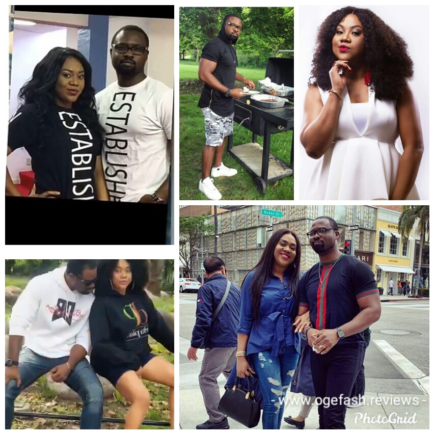 "JUST CURIOUS NI O! DO THESE TWO ""STELLA DAMASUS AND DANIEL ADEMINOKAN"" HAVE KIDS TOGETHER? BECAUSE IT IS LOOKING MORE LIKE BUSINESS P.."