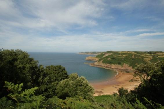 Jersey baai Greve de Lecq