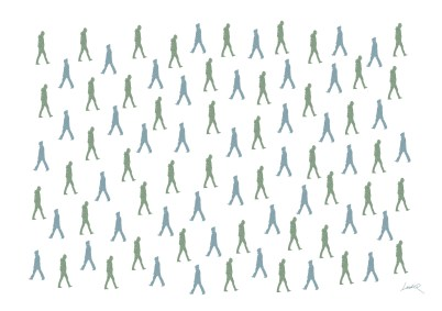 45. Green - people