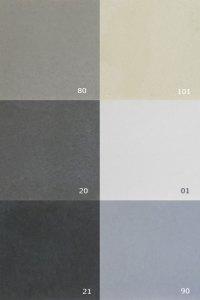 OGGI-Beton: Standardfarben