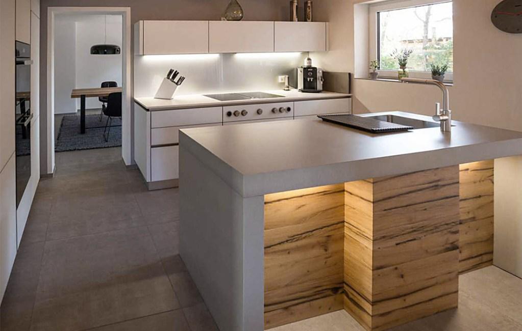 Beton Küchenarbeitsplatte und Möbel in höchster Qualität | OGGI-Beton