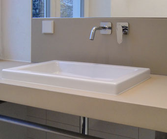 OGGI-Beton: Betonwaschtisch-Platte E