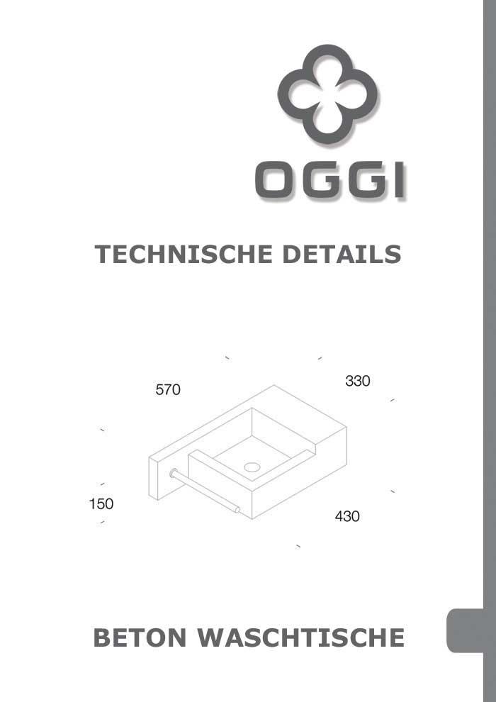 OGGI-Beton: Katalog-PDF Betonwaschtisch, technische Details