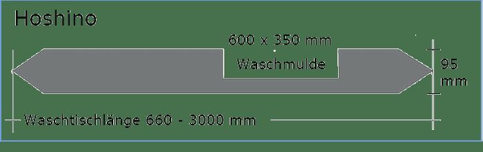 OGGI-Beton: Betonwaschtisch HOSHINO