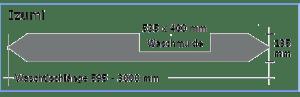 OGGI-Beton: Betonwaschtisch IZUMI