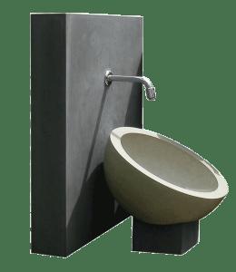 OGGI-Beton, Gartenwaschbecken Kaya