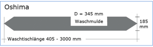 OGGI-Beton: Betonwaschtisch OSHIMA