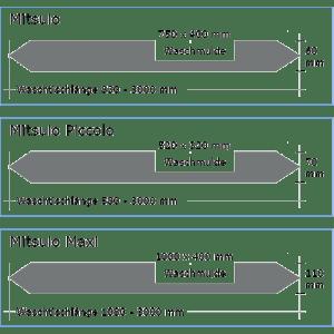 OGGI-Beton: Betonwaschtisch MITSUIO