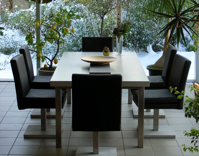 Wohnen Betonmöbel – Betontisch, Esstischplatte aus Beton