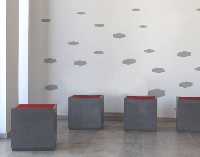 OGGI-Beton: Sitzwürfel ANCONA