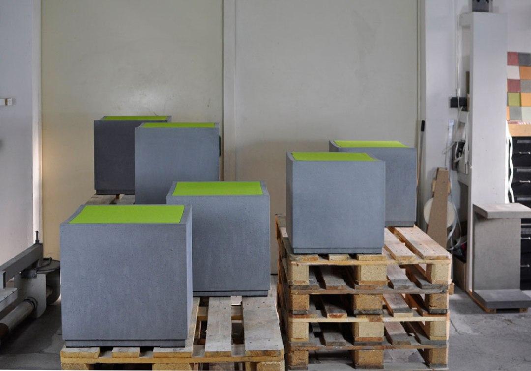 OGGI-Beton: Werkstatt