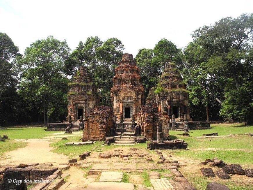 Visitare i templi di Angkor, Cambogia