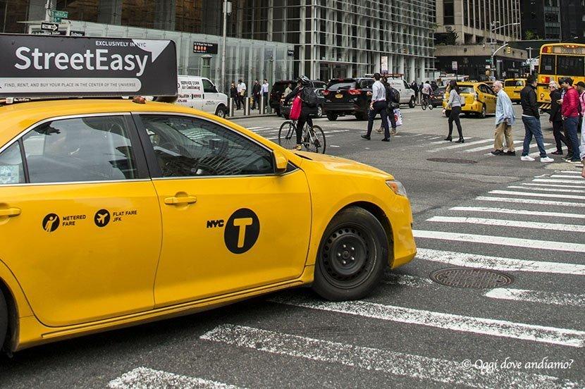Come muoversi a New York - taxi