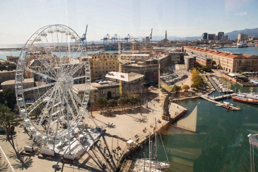 Cosa fare a Genova: la ruota panoramica