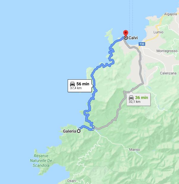 Itinerario in Corsica: Galeria - Calvi