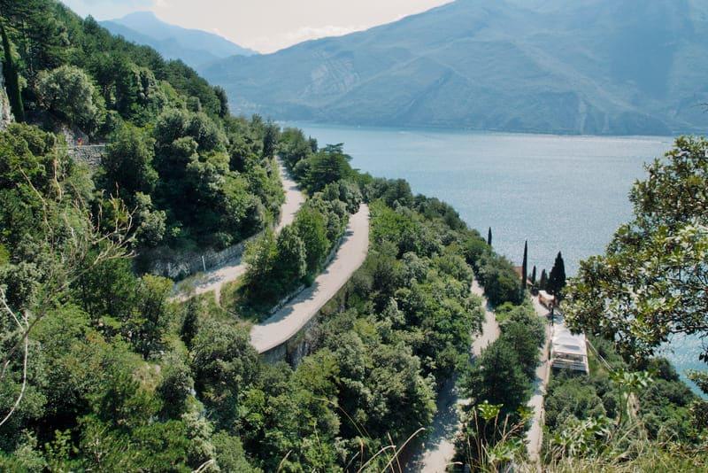 Il sentiero da Riva del Garda al Lago di Ledro