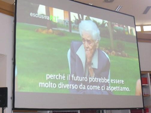 il messaggio di Rita Levi Montalcini